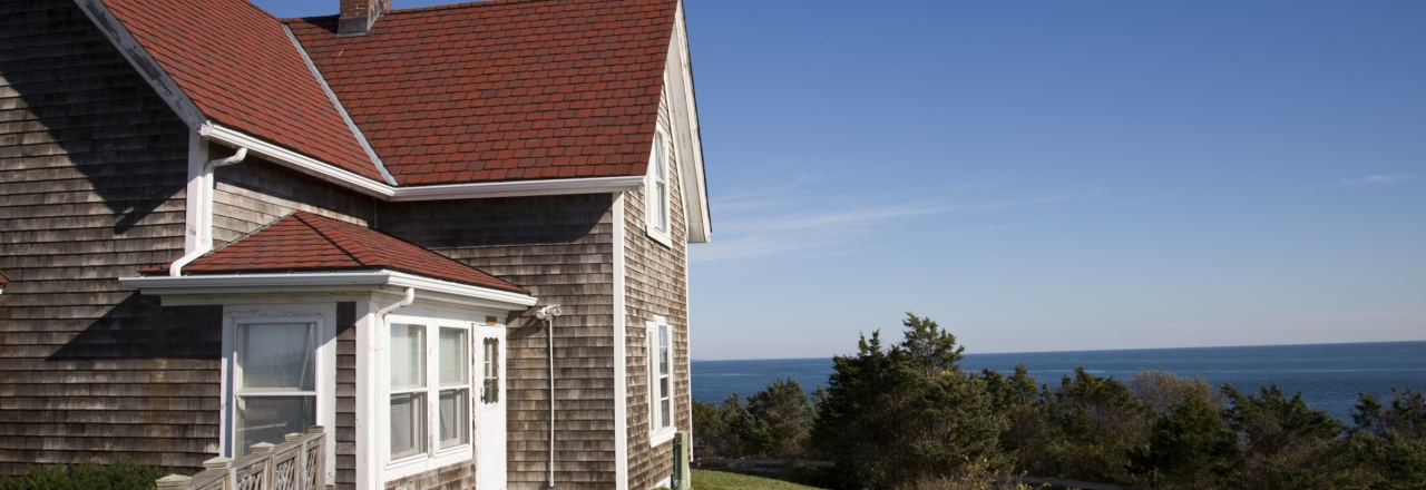 Cape Cod Home Overlooking Ocean